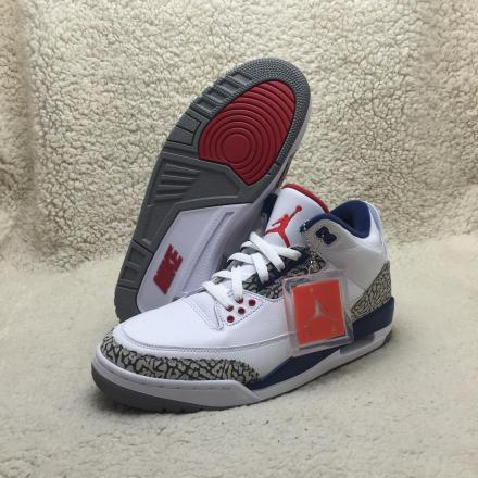 NIKE AIR JORDAN 3 OG WHITE/CEMENT GREY-TRUE BLUE