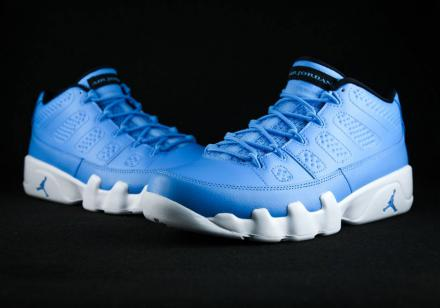 NIKE AIR JORDAN IX RETRO LOW UNIVERSITY BLUE/BLACK-WHITE