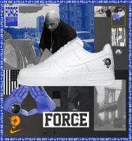【国内11月30日発売予定】 ナイキ エアフォース1 '07 ロカフェラ ホワイト/ホワイト