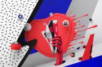 【国内3月2日発売予定】 ナイキ エアマックス90 ウルトラ 2.0 フライニット ホワイト/ウルフグレー-ブライト クリムゾン-ブラック