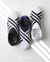 【国内2月24日発売予定】 ホワイトマウンテニアリング × アディダス オリジナルス スーパースター スリッポン 全3色