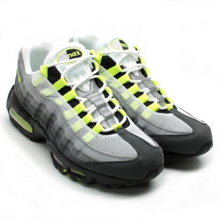 NIKE AIR MAX 95 OG WHITE/NEON YELLOW/BLACK/ANTHRACITE
