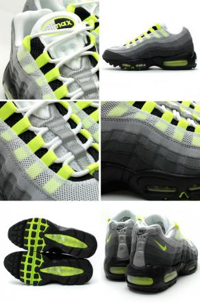 Most popular NIKE AIR MAX 95 ESSENTIAL green gray mens running shoes 810374078