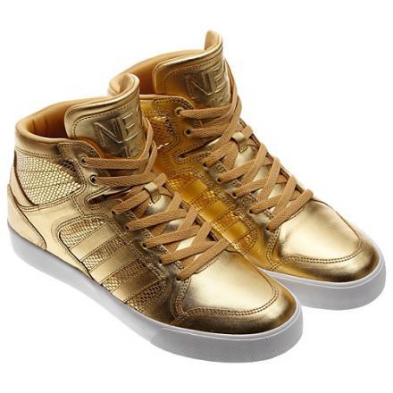adidas ゴールド スニーカー