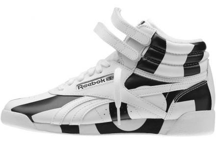 リーボック フリースタイル ハイ コレクティブ ホワイト/ブラック