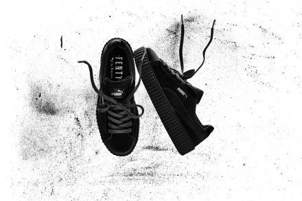 リアーナ × プーマ クリーパー ベルベット ブラック